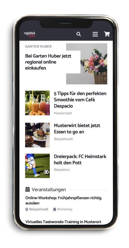 regiohub Screenshot
